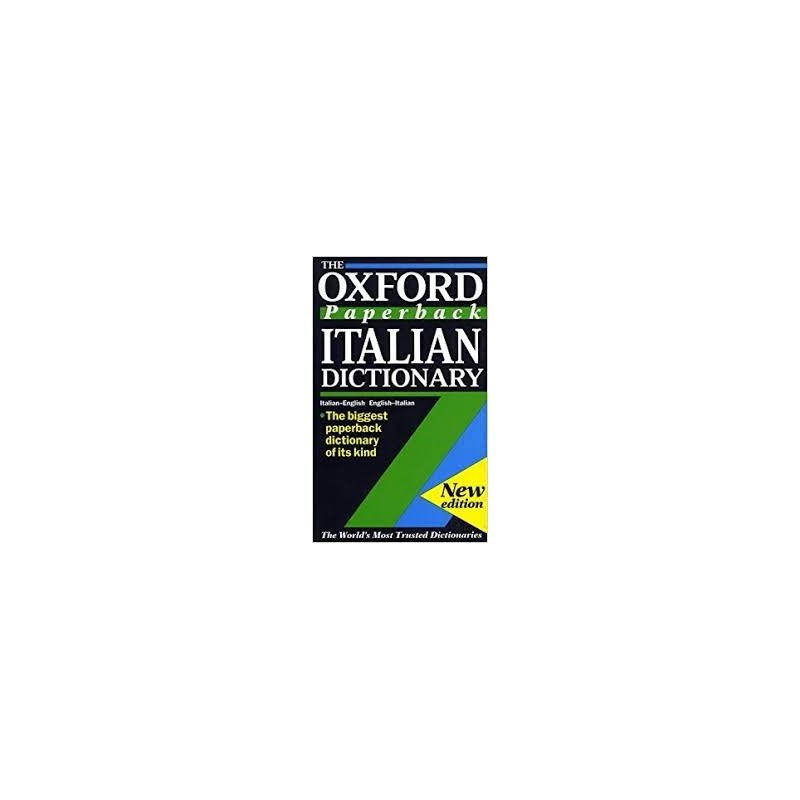 Mazza, Debora The Oxford Paperback Italian-English, English-Italian  Dictionary