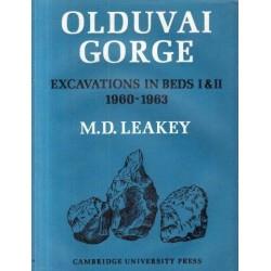 Olduvai Gorge, Excavations in Beds 1 & II 1960-1963