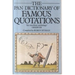 The Pan Dictionary Of Famous Quotations