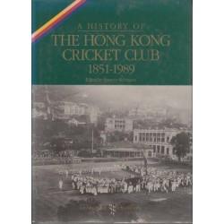A History of The Hong Kong Cricket Club