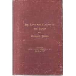 The Laws and Customs of the Bapedi and Cognate Tribes
