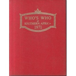 Who's Who of Southern Africa 1971