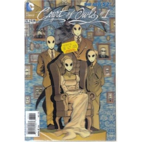 The New 52: Batman & Robin 23.2 - Count of Owls 1