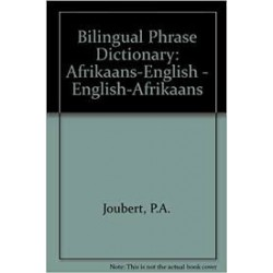 Bilingual Phrase Dictionary - English/Afrikaans