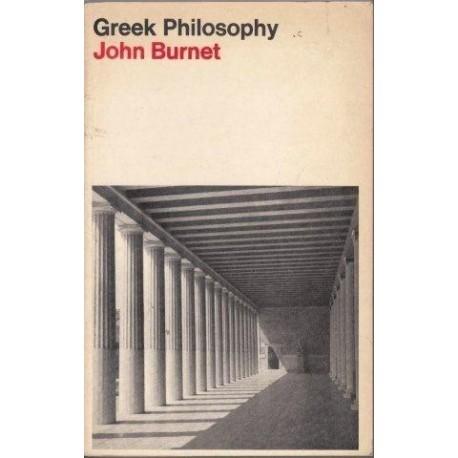 Greek Philosophy: Thales to Plato
