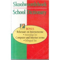 Pharos Skoolwoordeboek School Dictionary 33rd Ed