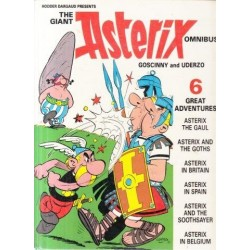 The Giant Asterix Omnibus Six Great Adventures