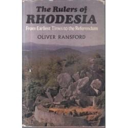 Rulers of Rhodesia