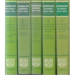 Colonialism in Africa 1870-1960 (5 Volume Set)