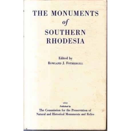 The Monuments of Southern Rhodesia