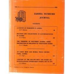 Zambia Museums Journal Vol 6