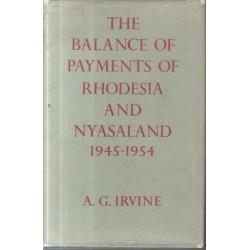 The Balance of Payments of Rhodesia and Nyasaland 1945 - 1954