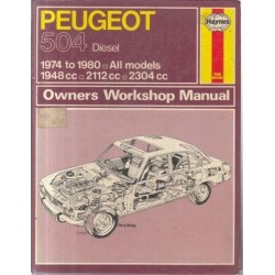 Peugeot 504 Owners Workshop Manual - 504 Diesel 1974 to 1980 All Models