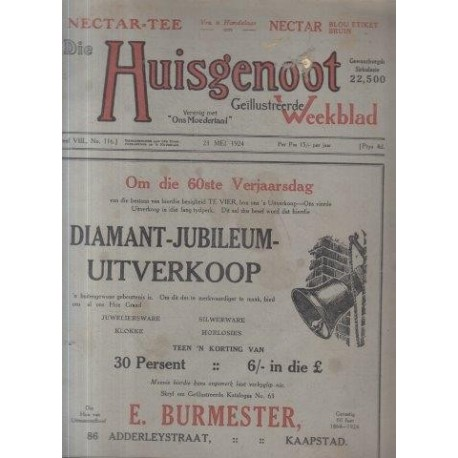 Huisgenoot Deel VIII No. 23 Mei 1924