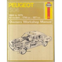 Peugeot 504 Owners Workshop Manual - 1968 to 1979 All models