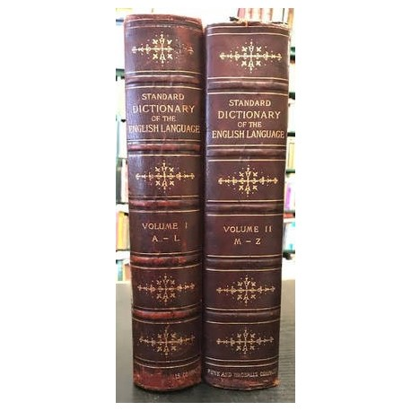 A Standard Dictionary of the English Language (2 Vols)