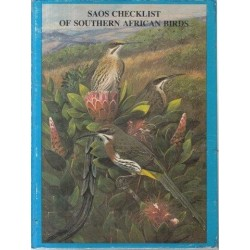 SAOS Checklist of Southern African Birds