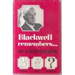 Blackwell Remembers