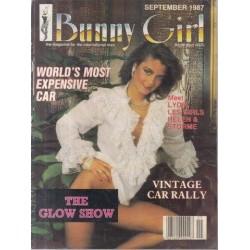 Bunny Girl Magazine September 1987