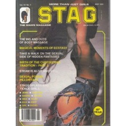 Stag - The Man's Magazine May 1991 (Vol. 10 No. 5)