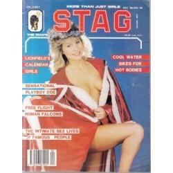 Stag - The Man's Magazine Dec/Jan  1988/9 (Vol. 08 No. 1)