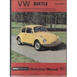VW Beetle From 1968 - 1200, 1300, 1500, 1302, 1302S, 1600US