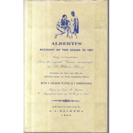 Alberti's Account of the Xhosa in 1807