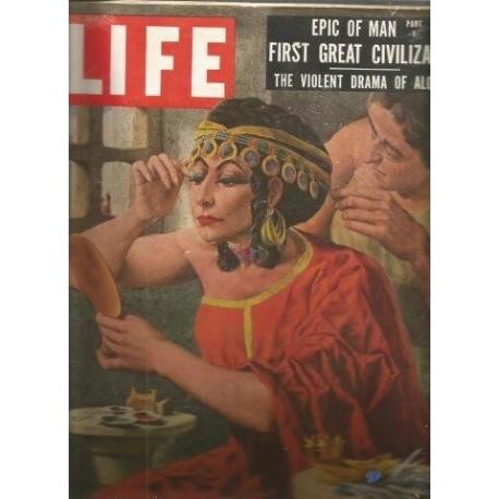 Life Magazine July 9, 1956 Vol 20 No. 14 Epic of Man Part V International Edition