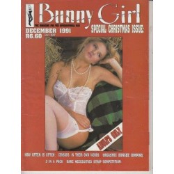 Bunny Girl Magazine May 1991 Special Christmas Issue