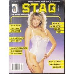 Stag - The Man's Magazine February 1984 (Vol. 07 No.11)