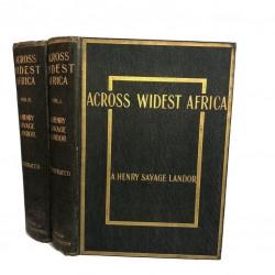 Across Widest Africa (2 Vols)