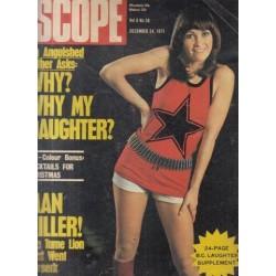 SCOPE Magazine December 24, 1971 Vol. 6 No 36