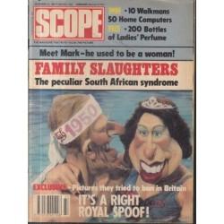 SCOPE Magazine November 22, 1985