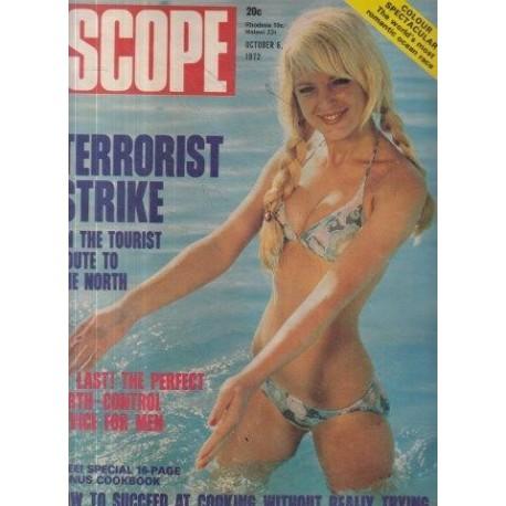 SCOPE Magazine October 6, 1972 Terrorist Strike