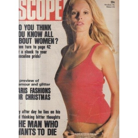 SCOPE Magazine December 15, 1972