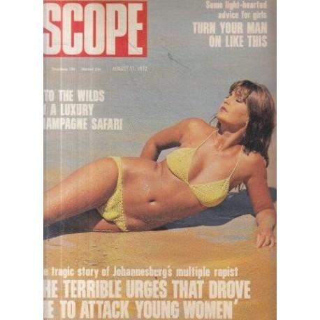 SCOPE Magazine August 11, 1972