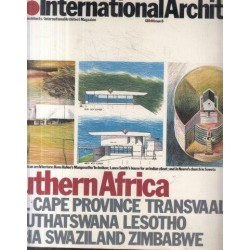 UIA. International Architect Issue 8, 1985: Southern Afric