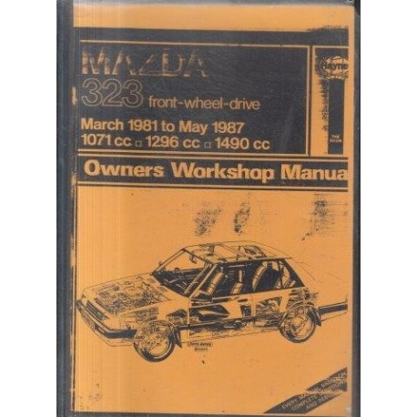 Mazda New 323 (Front wheel drive) Owners Workshop Manual