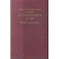 Gedenkboek van Parow-Moedergemeente 1917-1967