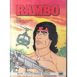 Rambo Mini Colouring Book
