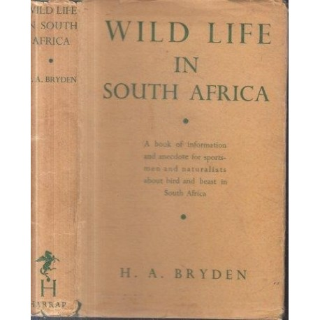 Wild Life in South Africa (1936 First Edition)