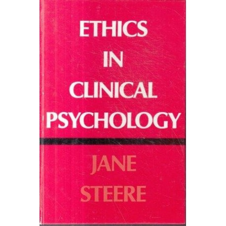 Ethics In Clinical Psychology