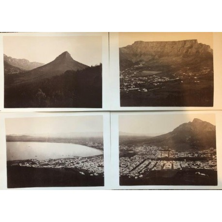 Photographic Panorama of Cape Town ca 1884