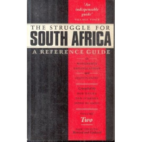 The Struggle for South Africa (Vol. 2)