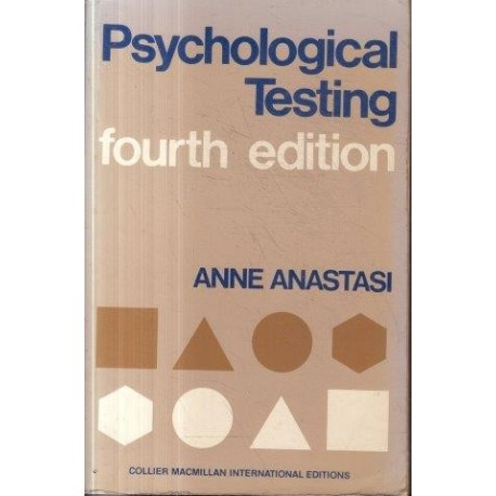 Psychological Testing 4th ed)