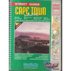 Map Studio Cape Town & Peninsula Street Guide