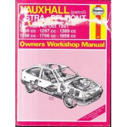 Vauxhall Astra and Belmont Owner's Workshop Manual (1984-1991)