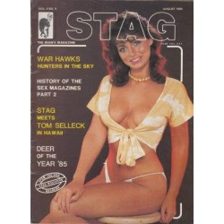 Stag - The Man's Magazine August 1985 (Vol. 04 No. 9)