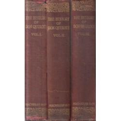 The History of the Valorous & Witty Knight-Errant Don Quixote of the Mancha (3 Vols)
