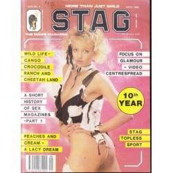 Stag - The Man's Magazine April 1990 (Vol. 09 No. 04)